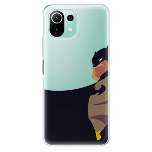 Odolné silikonové pouzdro iSaprio - BaT Comics na mobil Xiaomi Mi 11 Lite / Xiaomi 11 Lite 5G NE