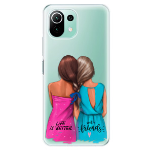 Odolné silikonové pouzdro iSaprio - Best Friends na mobil Xiaomi Mi 11 Lite / Xiaomi 11 Lite 5G NE