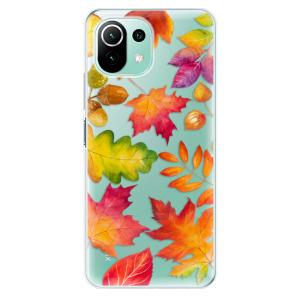 Odolné silikonové pouzdro iSaprio - Autumn Leaves 01 na mobil Xiaomi Mi 11 Lite / Xiaomi 11 Lite 5G NE