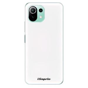 Odolné silikonové pouzdro iSaprio - 4Pure - bílé na mobil Xiaomi Mi 11 Lite / Xiaomi 11 Lite 5G NE