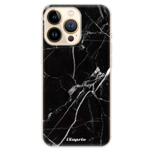 Odolné silikonové pouzdro iSaprio - Black Marble 18 na mobil Apple iPhone 13 Pro Max