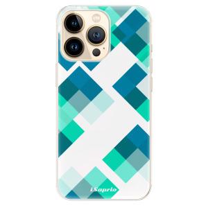 Odolné silikonové pouzdro iSaprio - Abstract Squares 11 na mobil Apple iPhone 13 Pro Max