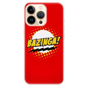 Odolné silikonové pouzdro iSaprio - Bazinga 01 na mobil Apple iPhone 13 Pro Max