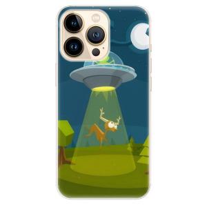 Odolné silikonové pouzdro iSaprio - Alien 01 na mobil Apple iPhone 13 Pro Max