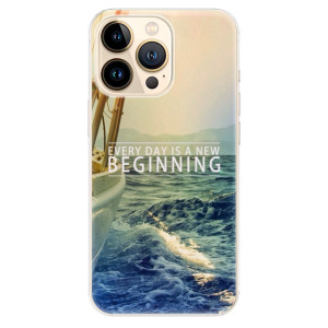 Odolné silikonové pouzdro iSaprio - Beginning na mobil Apple iPhone 13 Pro Max