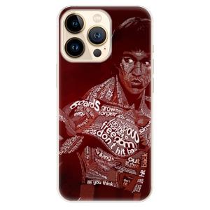 Odolné silikonové pouzdro iSaprio - Bruce Lee na mobil Apple iPhone 13 Pro Max