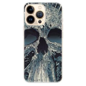Odolné silikonové pouzdro iSaprio - Abstract Skull na mobil Apple iPhone 13 Pro Max
