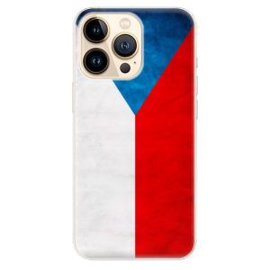 Odolné silikonové pouzdro iSaprio - Czech Flag na mobil Apple iPhone 13 Pro Max