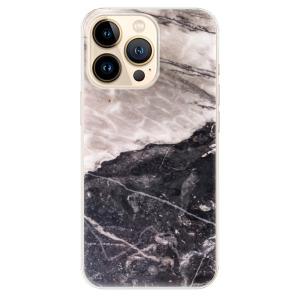 Odolné silikonové pouzdro iSaprio - BW Marble na mobil Apple iPhone 13 Pro Max
