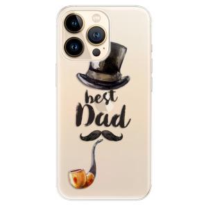 Odolné silikonové pouzdro iSaprio - Best Dad na mobil Apple iPhone 13 Pro Max