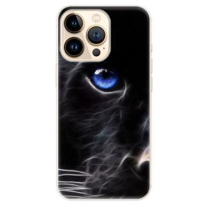 Odolné silikonové pouzdro iSaprio - Black Puma na mobil Apple iPhone 13 Pro Max