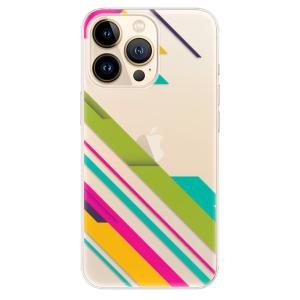Odolné silikonové pouzdro iSaprio - Color Stripes 03 na mobil Apple iPhone 13 Pro Max