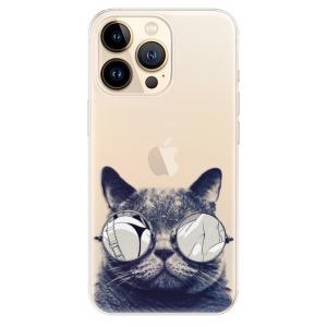 Odolné silikonové pouzdro iSaprio - Crazy Cat 01 na mobil Apple iPhone 13 Pro Max