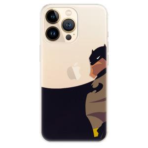 Odolné silikonové pouzdro iSaprio - BaT Comics na mobil Apple iPhone 13 Pro Max