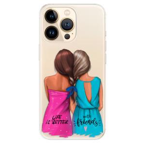 Odolné silikonové pouzdro iSaprio - Best Friends na mobil Apple iPhone 13 Pro Max
