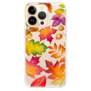 Odolné silikonové pouzdro iSaprio - Autumn Leaves 01 na mobil Apple iPhone 13 Pro Max