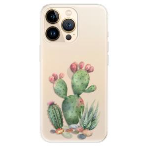 Odolné silikonové pouzdro iSaprio - Cacti 01 na mobil Apple iPhone 13 Pro Max