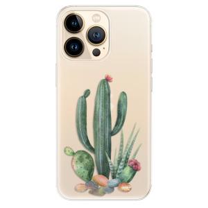 Odolné silikonové pouzdro iSaprio - Cacti 02 na mobil Apple iPhone 13 Pro Max
