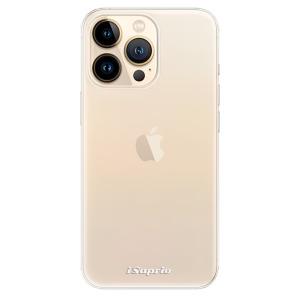 Odolné silikonové pouzdro iSaprio - 4Pure - čiré bez potisku na mobil Apple iPhone 13 Pro Max