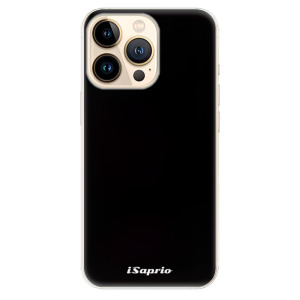 Odolné silikonové pouzdro iSaprio - 4Pure - černé na mobil Apple iPhone 13 Pro Max