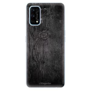 Odolné silikonové pouzdro iSaprio - Black Wood 13 na mobil Realme 7 Pro