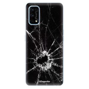 Odolné silikonové pouzdro iSaprio - Broken Glass 10 na mobil Realme 7 Pro