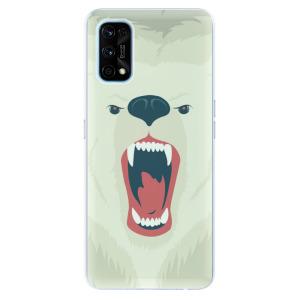 Odolné silikonové pouzdro iSaprio - Angry Bear na mobil Realme 7 Pro