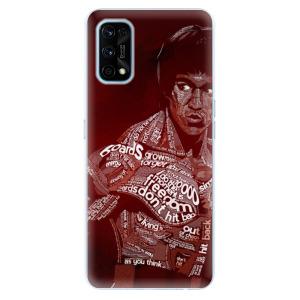 Odolné silikonové pouzdro iSaprio - Bruce Lee na mobil Realme 7 Pro