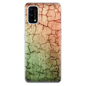 Odolné silikonové pouzdro iSaprio - Cracked Wall 01 na mobil Realme 7 Pro