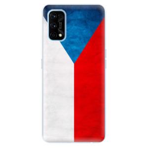 Odolné silikonové pouzdro iSaprio - Czech Flag na mobil Realme 7 Pro