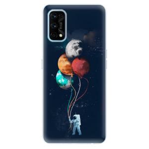Odolné silikonové pouzdro iSaprio - Balloons 02 na mobil Realme 7 Pro