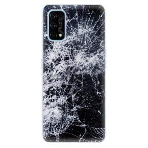 Odolné silikonové pouzdro iSaprio - Cracked na mobil Realme 7 Pro