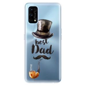 Odolné silikonové pouzdro iSaprio - Best Dad na mobil Realme 7 Pro