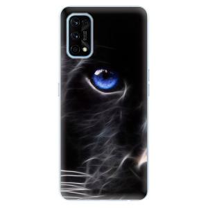 Odolné silikonové pouzdro iSaprio - Black Puma na mobil Realme 7 Pro