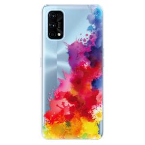 Odolné silikonové pouzdro iSaprio - Color Splash 01 na mobil Realme 7 Pro