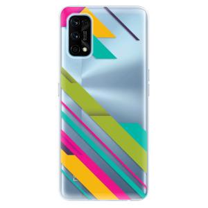 Odolné silikonové pouzdro iSaprio - Color Stripes 03 na mobil Realme 7 Pro