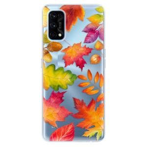 Odolné silikonové pouzdro iSaprio - Autumn Leaves 01 na mobil Realme 7 Pro