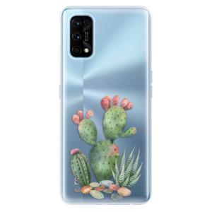 Odolné silikonové pouzdro iSaprio - Cacti 01 na mobil Realme 7 Pro