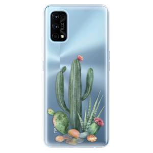 Odolné silikonové pouzdro iSaprio - Cacti 02 na mobil Realme 7 Pro