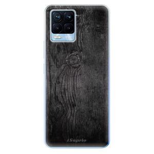 Odolné silikonové pouzdro iSaprio - Black Wood 13 na mobil Realme 8 / Realme 8 Pro