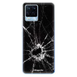 Odolné silikonové pouzdro iSaprio - Broken Glass 10 na mobil Realme 8 / Realme 8 Pro