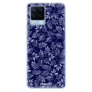 Odolné silikonové pouzdro iSaprio - Blue Leaves 05 na mobil Realme 8 / Realme 8 Pro