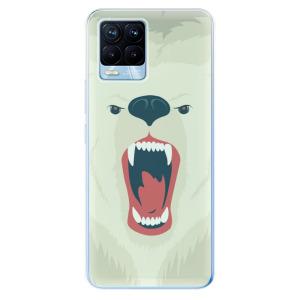 Odolné silikonové pouzdro iSaprio - Angry Bear na mobil Realme 8 / Realme 8 Pro