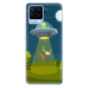 Odolné silikonové pouzdro iSaprio - Alien 01 na mobil Realme 8 / Realme 8 Pro