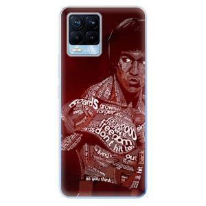 Odolné silikonové pouzdro iSaprio - Bruce Lee na mobil Realme 8 / Realme 8 Pro