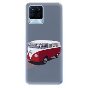 Odolné silikonové pouzdro iSaprio - VW Bus na mobil Realme 8 / Realme 8 Pro