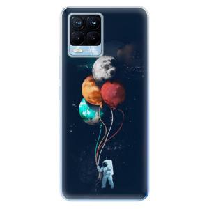 Odolné silikonové pouzdro iSaprio - Balloons 02 na mobil Realme 8 / Realme 8 Pro