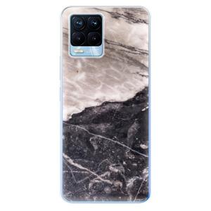 Odolné silikonové pouzdro iSaprio - BW Marble na mobil Realme 8 / Realme 8 Pro