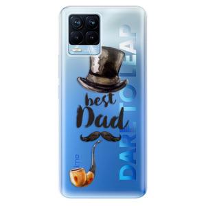 Odolné silikonové pouzdro iSaprio - Best Dad na mobil Realme 8 / Realme 8 Pro