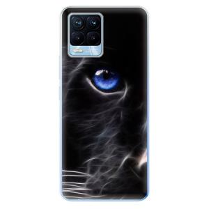 Odolné silikonové pouzdro iSaprio - Black Puma na mobil Realme 8 / Realme 8 Pro